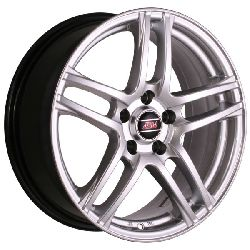 Jante ALIAJ 16 - Jante Ford Focus 3, Ford Focus 2, Ford C-Max, Ford Kuga, Ford Mondeo, Ford Turneo - Jante ASW 6204 ARGINTIE R16 7 5X108 ET40.